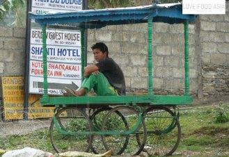 Kleine Pause in Pokhara