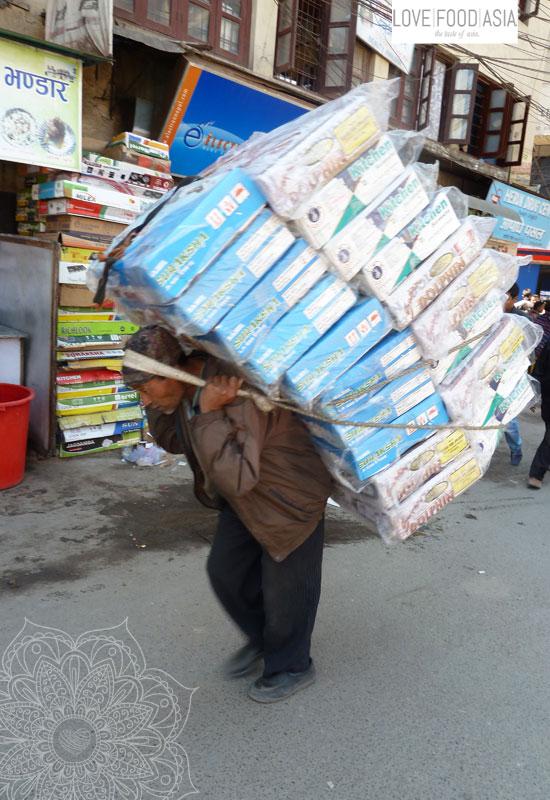 Hard work in Kathmandu