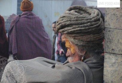 A Sadhu in Kathmandu
