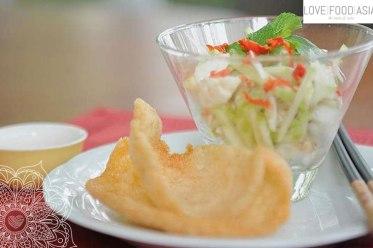 Vietnamesischer Krabbensalat