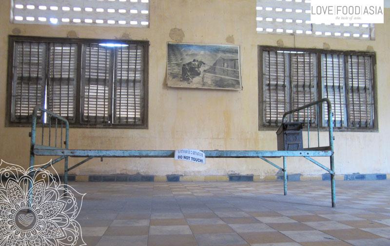 Das Tuol Sleng Völkermord-Museum