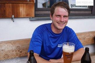 Matthias at the Bayern Haus