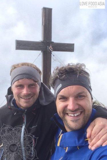 Selfie at Pirchkogel (2.828 m)