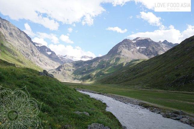 Tal hinter Amberger Hütte