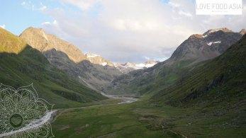 Valley behind Amberger Hütte
