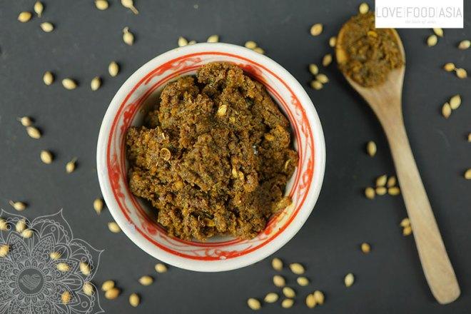 Homemade Korma Paste