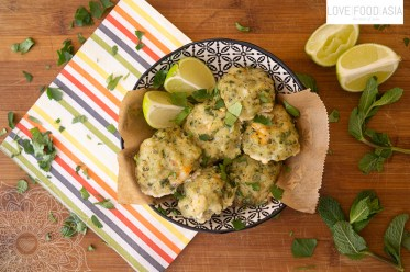 South-Indian Prawn Cakes