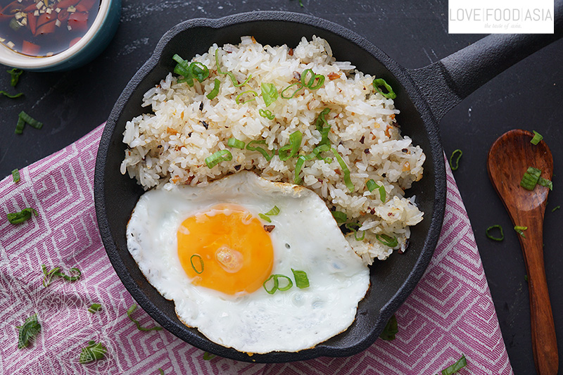 Filipino Fried Garlic Rice (Sinangag)