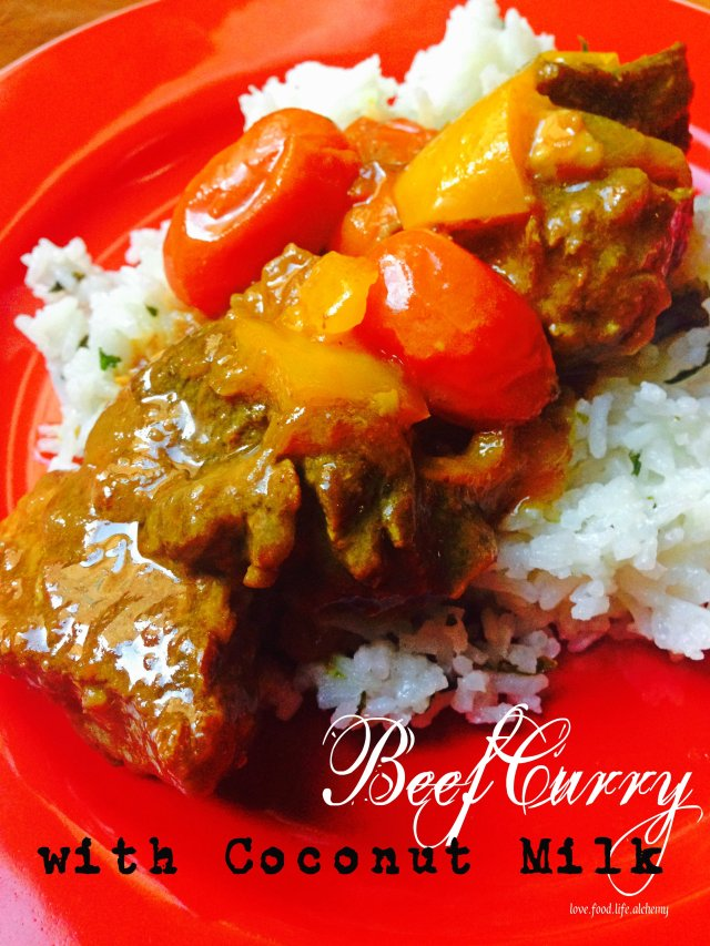 thai style beef curry