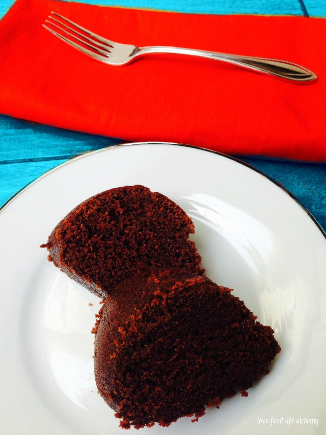 chocolate sour cream bundt cake