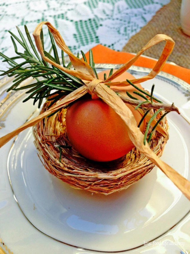 chic country easter egg