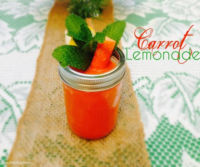 easter carrot lemonade