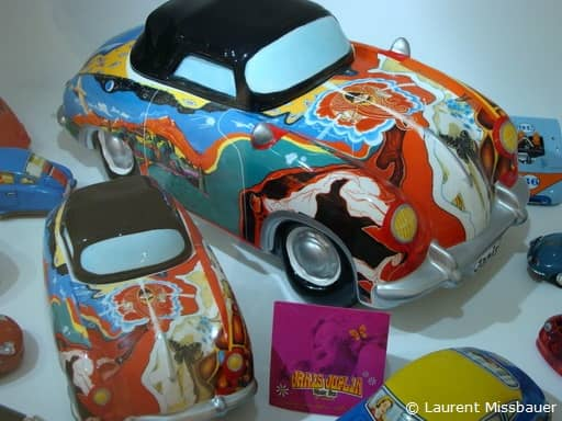 Janis Joplin Porsche 356 Toy