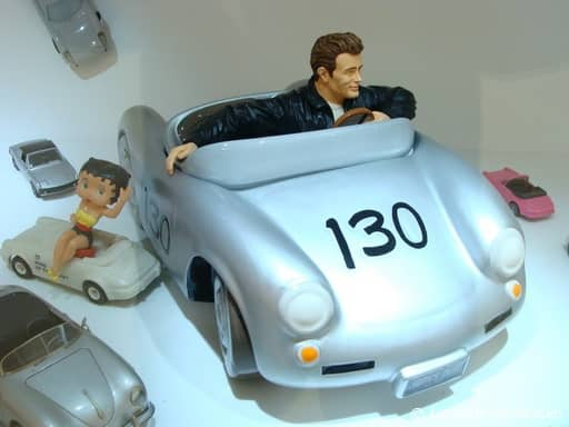 James Dean 'Little Bastard' toy
