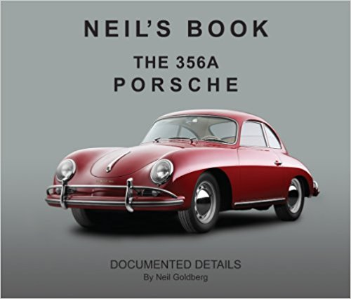Neil's Book : The 356A Porsche Documented Details Book Cover