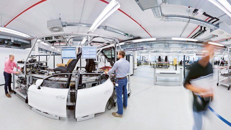 Porsche Development Center in Weissach