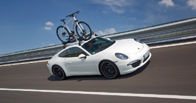 Heading off on holiday in a Porsche 911