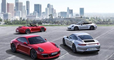 LA 2015 Porsche novelties