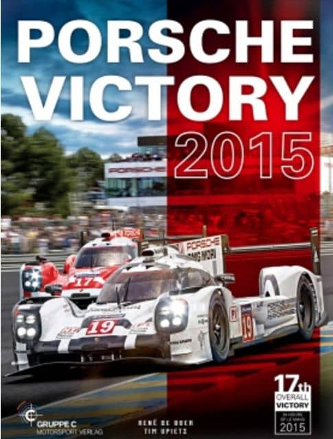 Porsche Victory 2015 Book Cover