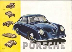 Porsche 356 pre A Brochure
