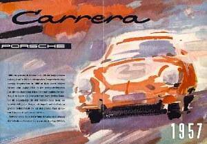 Porsche 356 A Carrera brochure Erich Strenger