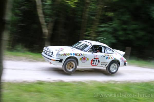 2015 Goodwood Festival of Speed / JF DIrickx , A. Benjamin / Per Eklund 'Happy People' Porsche 911SC