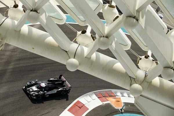 LMP1 Tyre Testing in Abu Dhabi