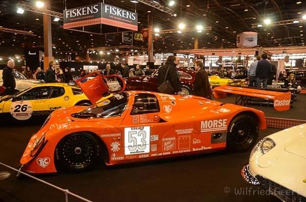 Porsche 956C ex Dereck Bell @Retromobile