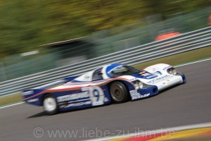 Spa Classic 2014 / Andy Prill / Porsche 956C