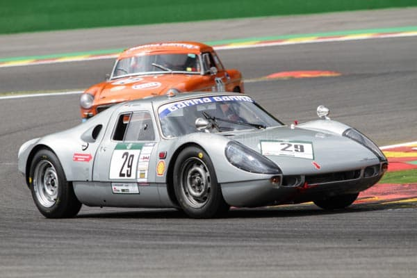 Afschin Fatemi in Porsche 904