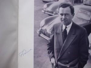 Liebe zu Ihm signed by Ferry Porsche