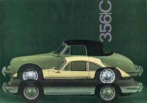 Porsche 356C Brochure