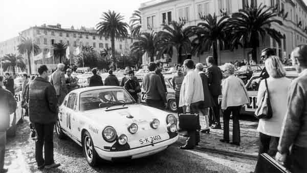Porsche 911 R, 14th Tour de Corse, 1969, Porsche AG
