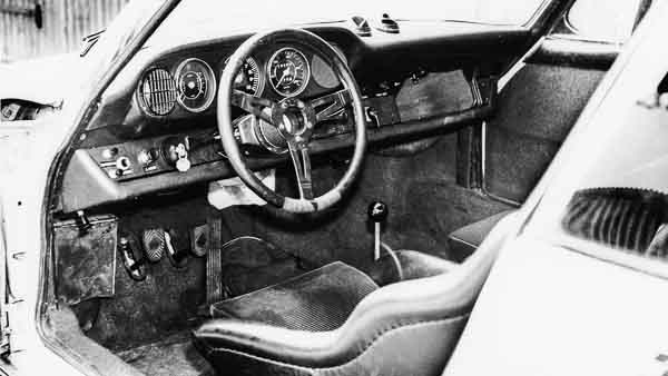 Interior of the 911 R, 1967, Porsche AG