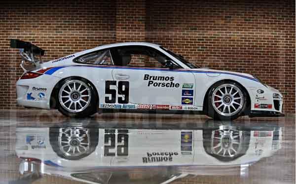 Jerry Seinfeld 2012 Porsche 997 GT3Cup