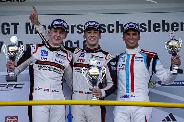 Sven Müller wins Porsche Carrera Cup Deutschland Oschersleben