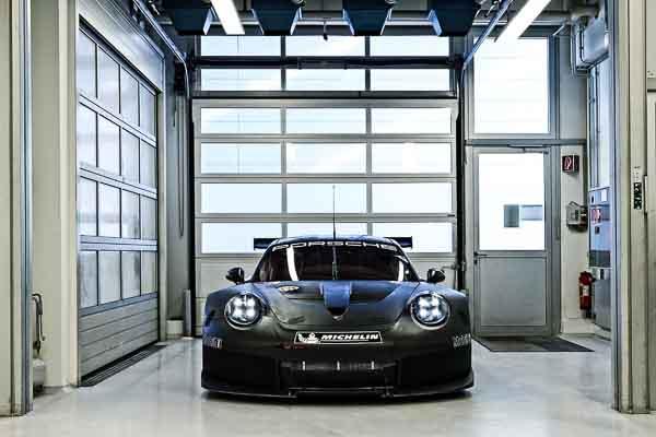 New GTE/GTLM Porsche at Motorsport Center Flacht