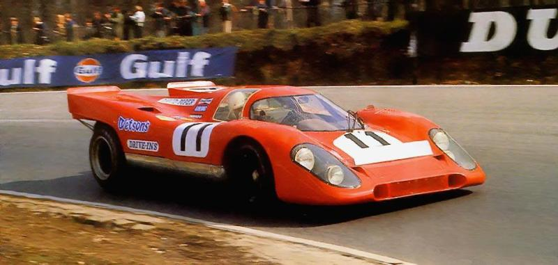 Porsche 917-010 1970 Monza Tony Adamowicz David Piper