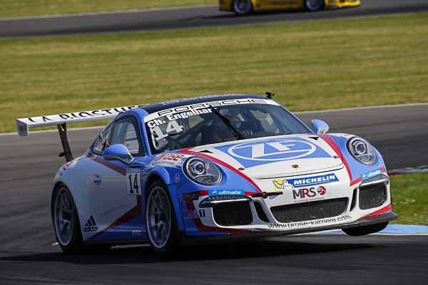 Christian Engelhart (D) Porsche Carrera Cup Deutschland - 04 Lausitzring 2016