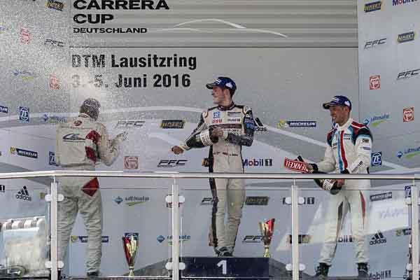 Porsche Carrera Cup Deutschland Race 8 Lausitzring