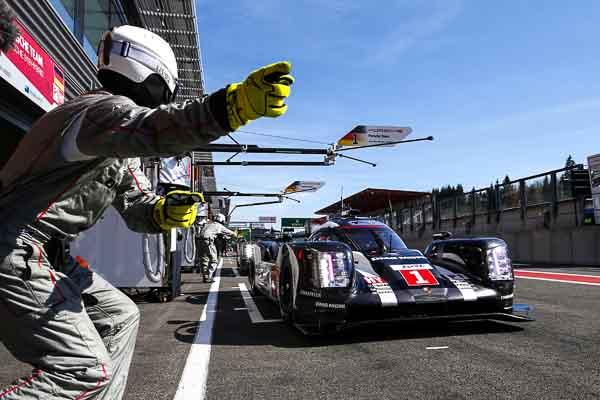 Le Mans 24hours Strategy LMP1