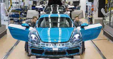 Production launch Porsche 718 Cayman