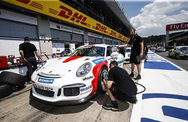 Philipp Frommenwiler (CH) Porsche Mobil 1 Supercup Spielberg 2016