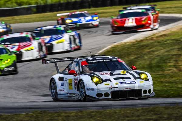 IMSA Weathertech Road America Porsche 911 RSR, Porsche North America: Patrick Pilet, Nick Tandy