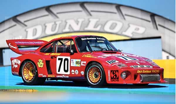 ex Paul Newman Porsche 935