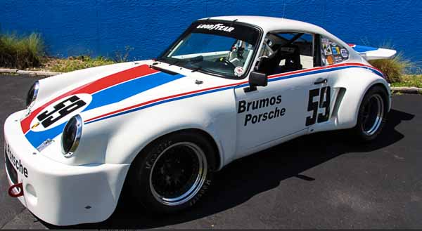 1971 PORSCHE 974 3.0L - Replica of the car raced by Peter Gregg for Brumos Porsche
