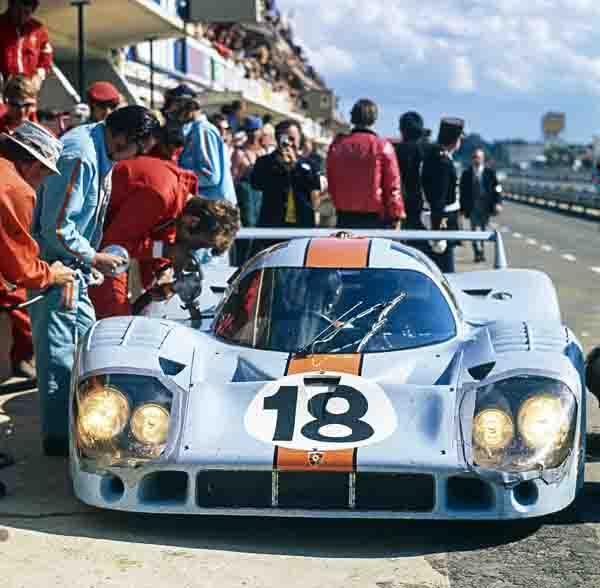 13.06.1971, Porsche 917 KH Coupé, Pedro Rodríguez and Jackie Oliver, Le Mans 24-Hours