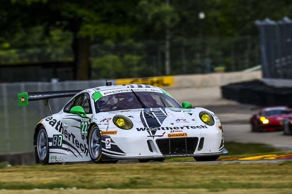 Porsche 911 GT3 R, Alex Job Racing: Sven Müller, Cooper MacNeil