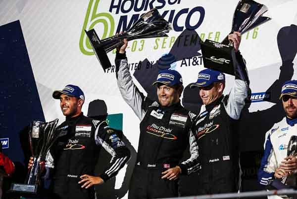 Abu Dhabi Proton Racing: Khaled Al Qubaisi, David Heinemeier Hansson, Patrick Long (l-r)