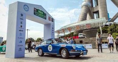 Porsche museum Top City Classic China Rallye
